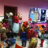 Santa visits Mothers & Toddlers group